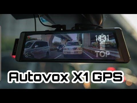 Autovox Dashcam mit GPS X1 Auto Vox X1 Rückwärts Kamera   25% Rabatt Code