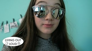 Dior Sunglass Review | Shopping, Hauls, Thrift Stores | 2.43 | Living Out Loud Vlog