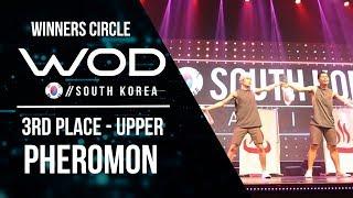 Pheromon  | 3rd Place Upper | Winner