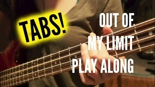 Out of My Limit Bass Play Along (TABS) - Live @ Derpcon - 5 Seconds of Summer