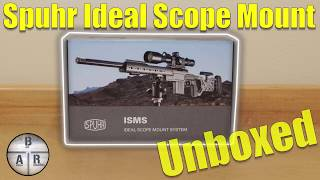 Spuhr ISMS 1 Piece Scope Mount MODEL SP-4302 34MM