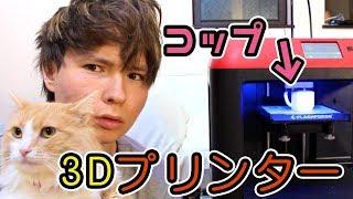 3Dプリンターで顔付きマグカップ作った!!飲めるか?PDS