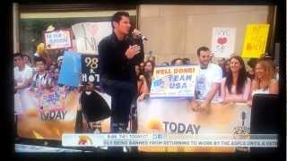 98º Degrees - I Do (Cherish You) - Live on Today Show 8.17.2012