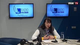"""Преподаватель латышского языка Инесса Тестелец в программе """"Семь дней и ночей"""" #MIXTV"""