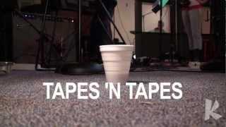 """Live on Radio K: Tapes N Tapes - """"Badaboom"""""""
