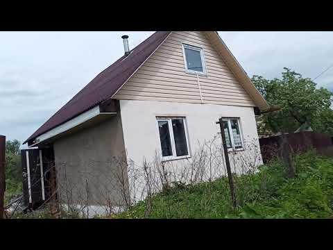 Дом - дача Клин из блоков печка колодец #АэНБИ #недвижимость