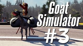 GOATS IN SPAAAACE!!! | Goat Simulator - Part 3