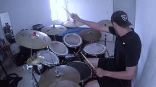 FEAR FACTORY - Pisschrist drum cover GoPro