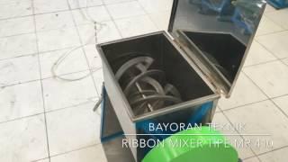 Mixer Ribbon MR 410, Pengaduk Bubuk Kering dari Bayoran Teknik