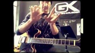 Block Party - Chuck Brown Guitar Solo Tutorial
