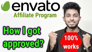 Envato Affiliate marketing tutorial for beginners   How to get approved on envato   Freelancer Nasim