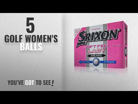 Top 10 Golf Women'S Balls [2018]: Srixon Soft Feel Women's Golf Balls - White