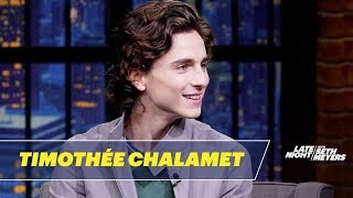 Timothée Chalamet On 'The King' And Meeting Co-Star Emma Watson
