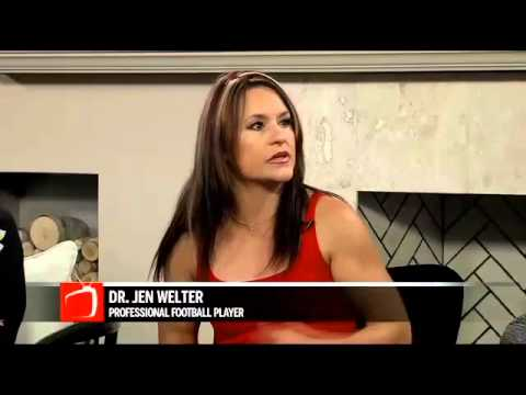 Pro Football Player Dr. Jen Welter - Texas Revolution Running Back