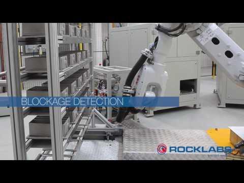 Роботизированная система подготовки проб Rocklabs
