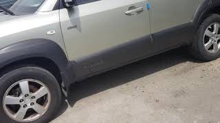 KOREAN CHEAP CARS SUV SCRAP YARD