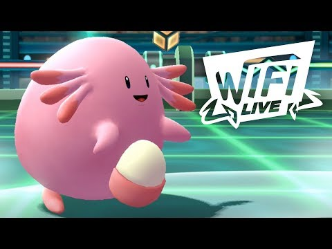 Pokemon Let's Go Pikachu & Eevee Wi-Fi Battle: Chansey Gives No Chances! (1080p)