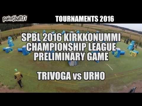 Trivoga vs Urho - SPBL2016 Kirkkonummi