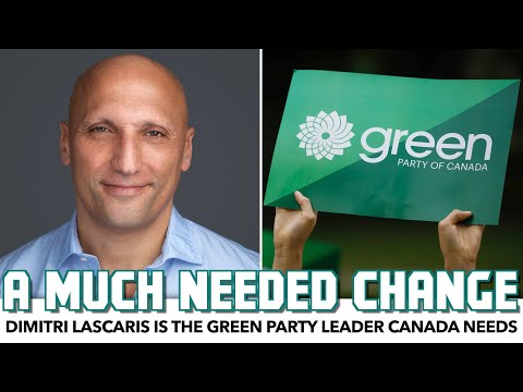 Interview: Dimitri Lascaris Is The Green Party Leader Canada Needs
