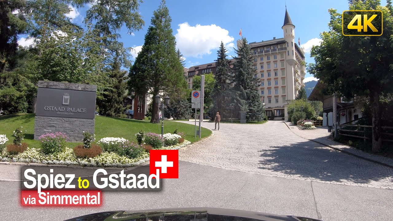 Driving from Spiez to Gstaad via the Simmental – Scenic Drive Switzerland!