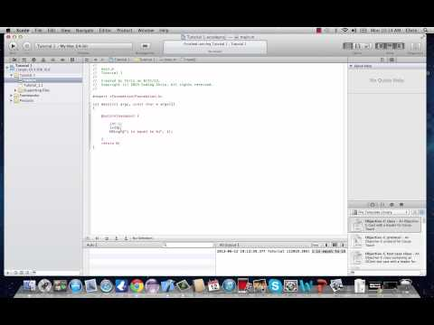 Objective-C Programming Tutorial 3- Numeric Variables
