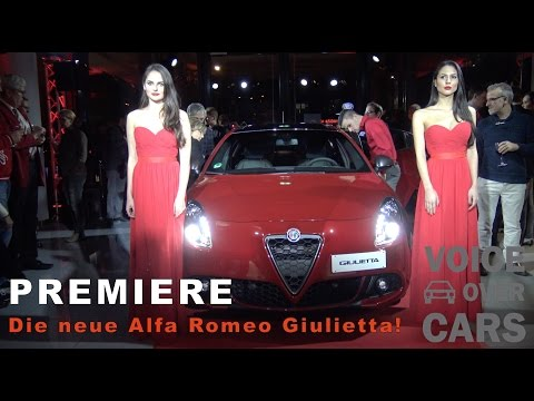 Alfa Romeo Giulietta Facelift 2016 Premiere #WeLoveGiulietta #WirsindGiulietta