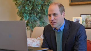 video: Watch: Prince William congratulates Oxford University on vaccine breakthrough