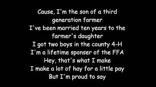 International Harvester-Craig Morgan-LYRICS