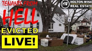 Tenants From Hell #8; Cadillac Escalade driving tenant from hell is EVICTED LIVE!