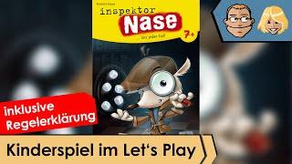 Inspektor Nase – Brettspiel – Review und Regelerklärung