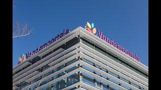 Circulaire gevel voor hoofdkantoor Vandemoortele in Gent