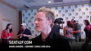 Дэвид Андерс, David Anders iZOMBIE Interview San Diego Comic Con 2014