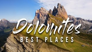 Top 7 Best Places in The Dolomites 4K | Beginners Travel Guide