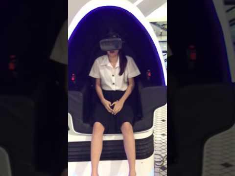 100บาท ร้องลั่นห้างง!!!  ทดลองเครื่องเล่น VR ครั้งแรก By Kaykai