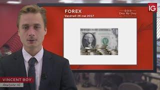GBP/USD - Bourse  - GBP/USD, lente évolution haussière - IG 26.05.2017