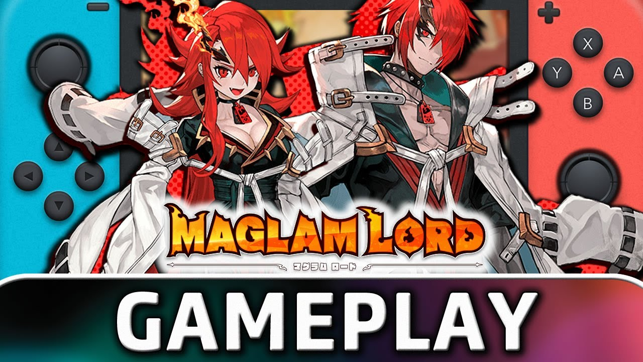 MAGLAM LORD | Nintendo Switch Gameplay