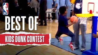 Best Of INCREDIBLE Kids Dunk Contest Moments