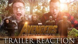 Avengers Infinity War - TRAILER REACTION
