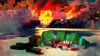 Minecraft | The Forest - EATEN ALIVE BY ZOMBIES! (Zombie Survival) #4