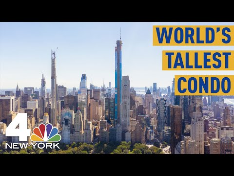 Tallest Residential Building in the World Has Panoramic View of NYC | NBC New York