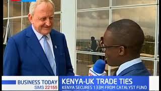 Kenya secures sh.100 million from United Kingdom to support entrepreneurs| KENYA -UK TRADE TIES