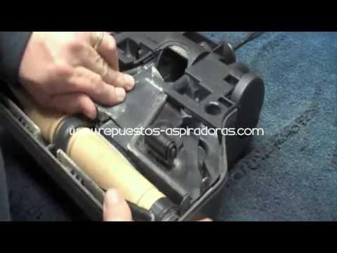 Cambio de la correa del Power Nozzle de la aspiradora Rainbow SE Performance, E y E2