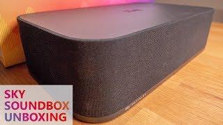 SKY SOUNDBOX UNBOXING - Lautsprecher mit 140 Watt