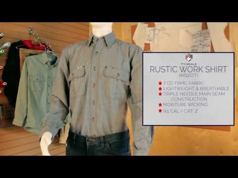 Rustic Work Shirt M120T