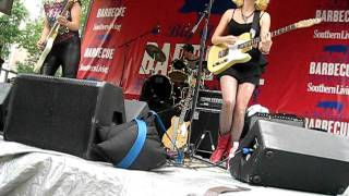Those Darlins - Tina Said @ Big Apple BBQ 6/12/11