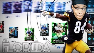 ALL-FLORIDA SQUAD TEAM BUILDER! NFL Players From Florida Team Builder Madden 19