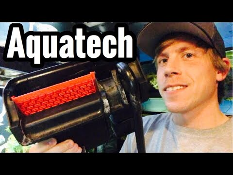 Aquatech Power Filter Review & Setup -Aquarium