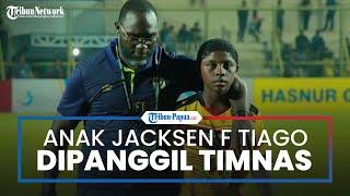Jacksen F Tiago Bersyukur Anaknya Dipanggil Timnas Indonesia U-18 dan Semoga Karirnya Melebihi Saya