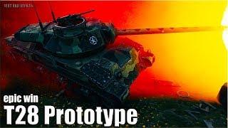 T28 Prototype wot СТАТИСТ тащит 🌟🌟🌟 World of Tanks лучший бой на пт-сау 8 уровень