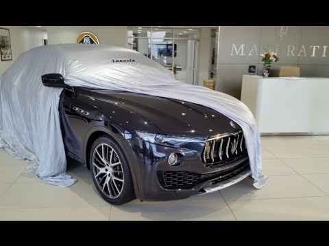 Maserati Levante S: Unveil, Start Up and First Impressions
